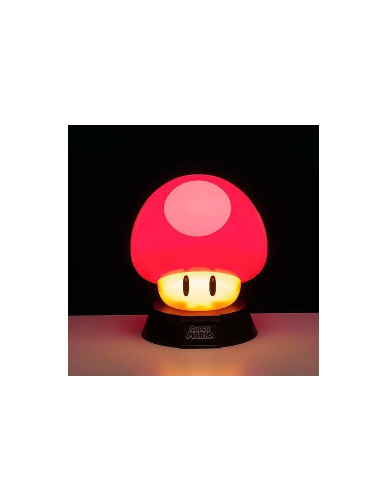 Nintendo Super Mario Bros Mushroom 3d Light